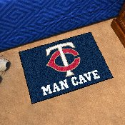 MLB - Minnesota Twins Man Cave Starter Rug 19x30