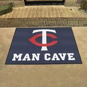 MLB - Minnesota Twins Man Cave All-Star Mat 33.75x42.5