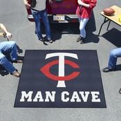 MLB - Minnesota Twins Man Cave Tailgater Rug 5'x6'