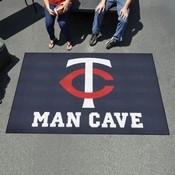 MLB - Minnesota Twins Man Cave UltiMat 5'x8' Rug