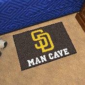 MLB - San Diego Padres Man Cave Starter Rug 19x30