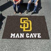 MLB - San Diego Padres Man Cave UltiMat 5'x8' Rug