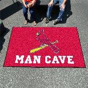 MLB - St. louis Cardinals Man Cave UltiMat 5'x8' Rug