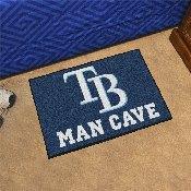 MLB - Tampa Bay Rays Man Cave Starter Rug 19x30