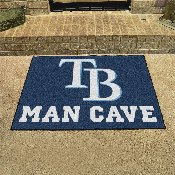 MLB - Tampa Bay Rays Man Cave All-Star Mat 33.75x42.5
