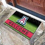 University of Arizona 18x30 Crumb RubberDoor Mat