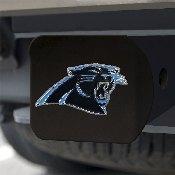 NFL - Carolina Panthers Color Hitch Cover - Black3.4