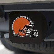NFL - Cleveland Browns Color Hitch Cover - Black3.4