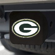 NFL - Green Bay Packers Color Hitch Cover - Black3.4