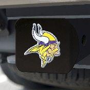 NFL - Minnesota Vikings Color Hitch Cover - Black3.4
