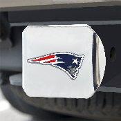 NFL - New England Patriots Color Hitch Cover - Chrome3.4