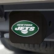 NFL - New York Jets Color Hitch Cover - Black3.4