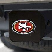 NFL - San Francisco 49ers Color Hitch Cover - Black3.4