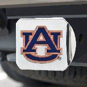 Auburn University Color Hitch Chrome 3.4x4