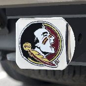 Florida State University Color Hitch Chrome 3.4x4