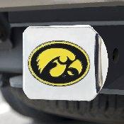 University of Iowa Color Hitch Chrome 3.4x4