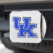 University of Kentucky Color Hitch Chrome 3.4x4