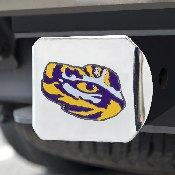 Louisiana State University Color Hitch Chrome 3.4x4