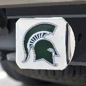 Michigan State University Color Hitch Chrome 3.4x4