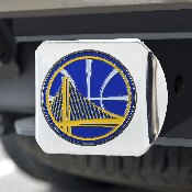 NBA - Golden State Warriors Color Hitch Chrome 3.4x4