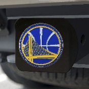 NBA - Golden State Warriors Color Hitch Black 3.4x4