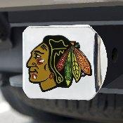 NHL - Chicago Blackhawks Color Hitch Chrome 3.4x4