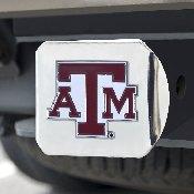 Texas A&M University Color Hitch Chrome 3.4x4