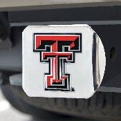 Texas Tech University Color Hitch Chrome 3.4x4
