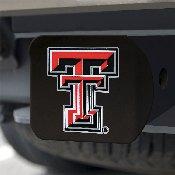 Texas Tech University Color Hitch Black 3.4x4