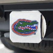 University of Florida Color Hitch Chrome 3.4x4