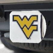 West Virginia University Color Hitch Chrome 3.4x4