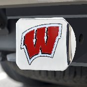 University of Wisconsin Color Hitch Chrome 3.4x4