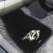 NHL - Nashville Predators 2-pc Embroidered Car Mat Set 17