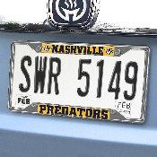 NHL - Nashville Predators License Plate Frame 6.25