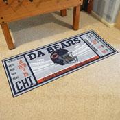 NFL - Chicago Bears Ticket Runner 30x72