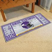 NFL - Minnesota Vikings Ticket Runner 30x72