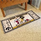 University of Iowa Ticket Runner 30x72