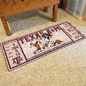 Texas A&M University Ticket Runner 30x72