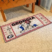 University of Georgia Ticket Runner 30x72