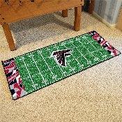 NFL - Atlanta Falcons XFIT Football Field Runner 30