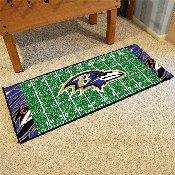 NFL - Baltimore Ravens XFIT Football Field Runner 30
