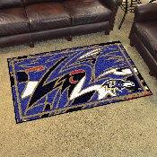 NFL - Baltimore Ravens XFIT 4x6 Rug 44