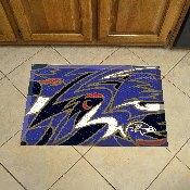 NFL - Baltimore Ravens XFIT Scraper Mat 19