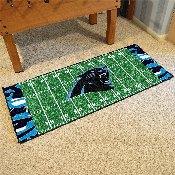 NFL - Carolina Panthers XFIT Football Field Runner 30