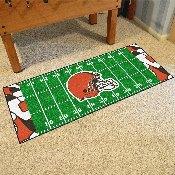 NFL - Cleveland Browns XFIT Football Field Runner 30