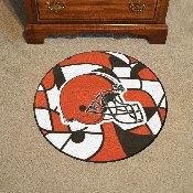 NFL - Cleveland Browns XFIT Roundel Mat 27