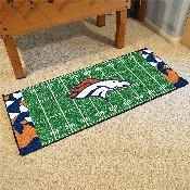 NFL - Denver Broncos XFIT Football Field Runner 30