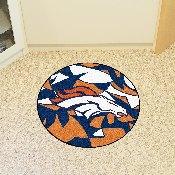 NFL - Denver Broncos XFIT Roundel Mat 27