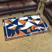 NFL - Denver Broncos XFIT 4x6 Rug 44