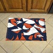 NFL - Denver Broncos XFIT Scraper Mat 19